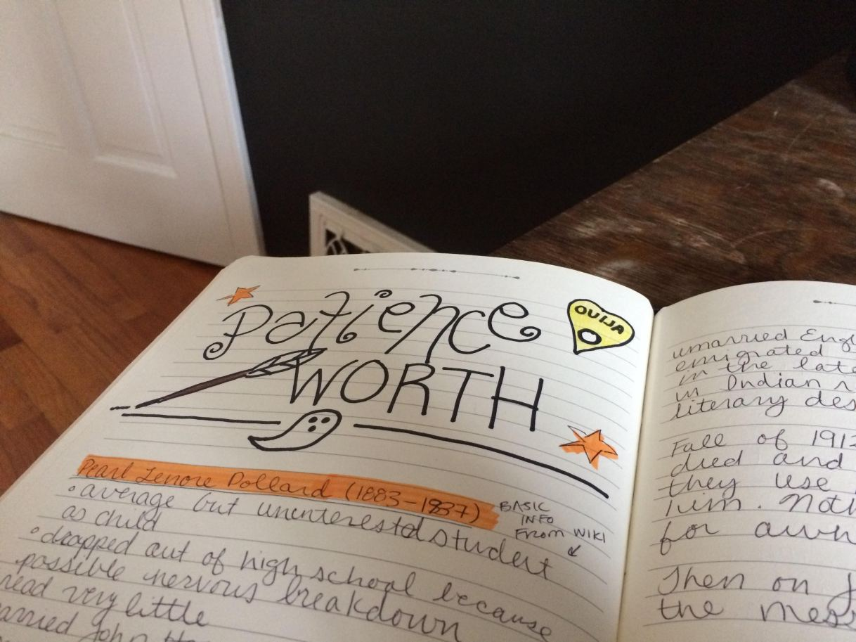 In My Commonplace Book: A Ghost Writer,Literally
